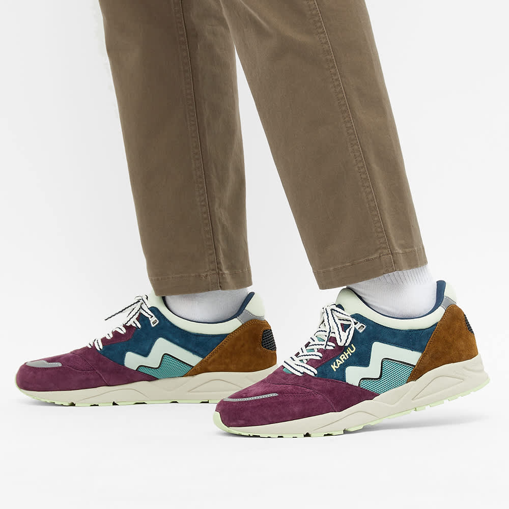 Karhu Aria 95 - Reflecting Pond/ Crushed Violets