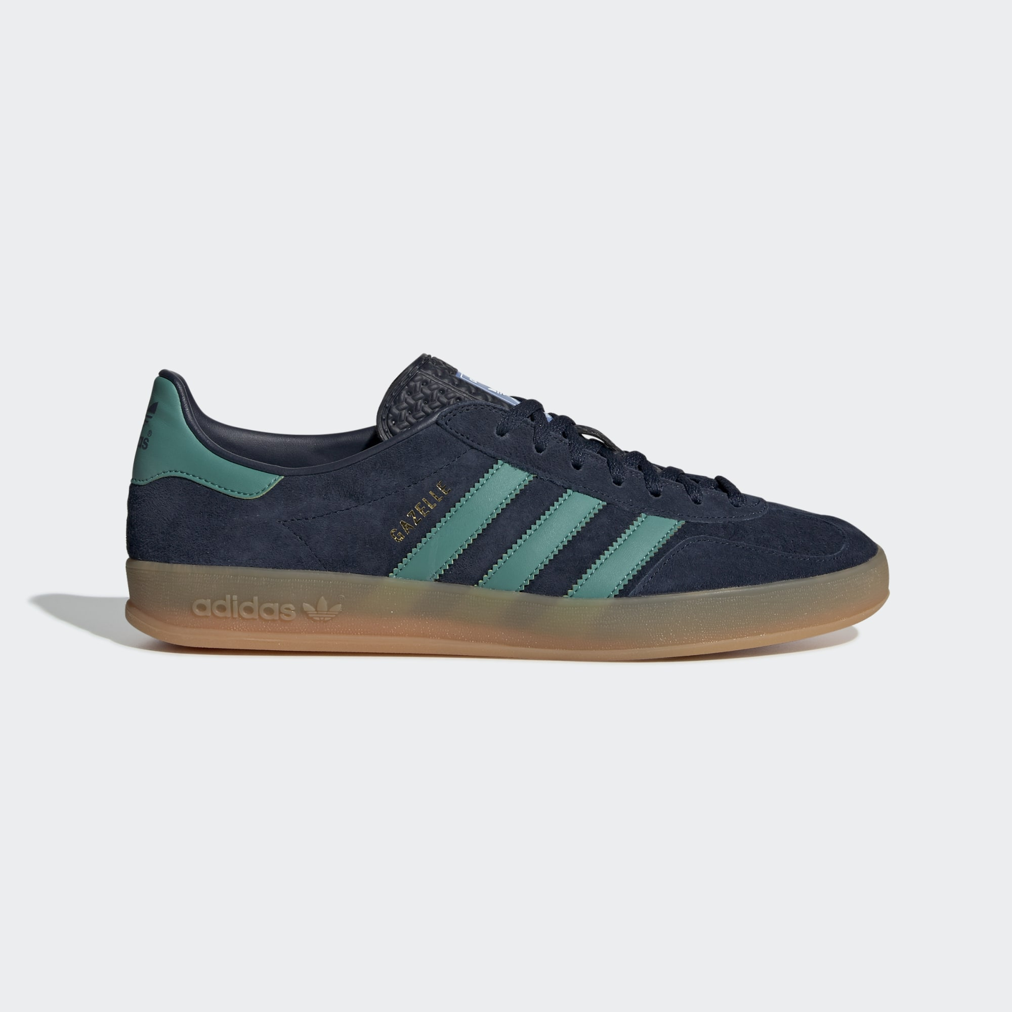 Adidas Gazelle Indoor Shoes - Collegiate Navy / Active Green / Bluebird