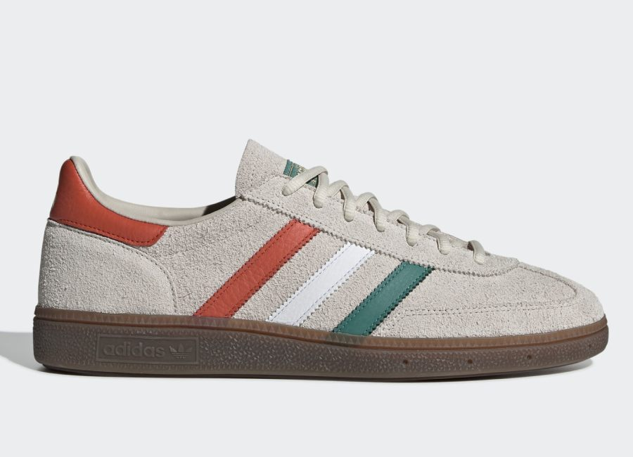 Adidas Handball Spezial Shoes - Clear Brown / Ftwr White / Gold Met