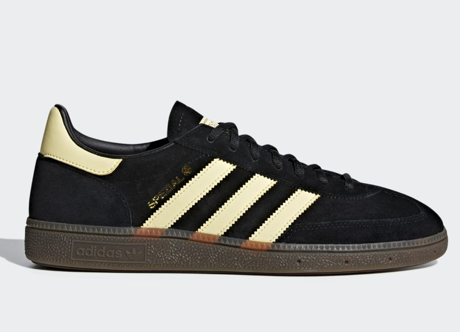 Adidas Handball Spezial Shoes - Core Black / Easy Yellow / Gum5