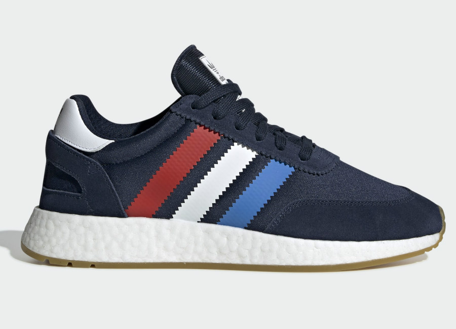 Adidas I-5923 Shoes - Collegiate Navy / Active Red / True Blue