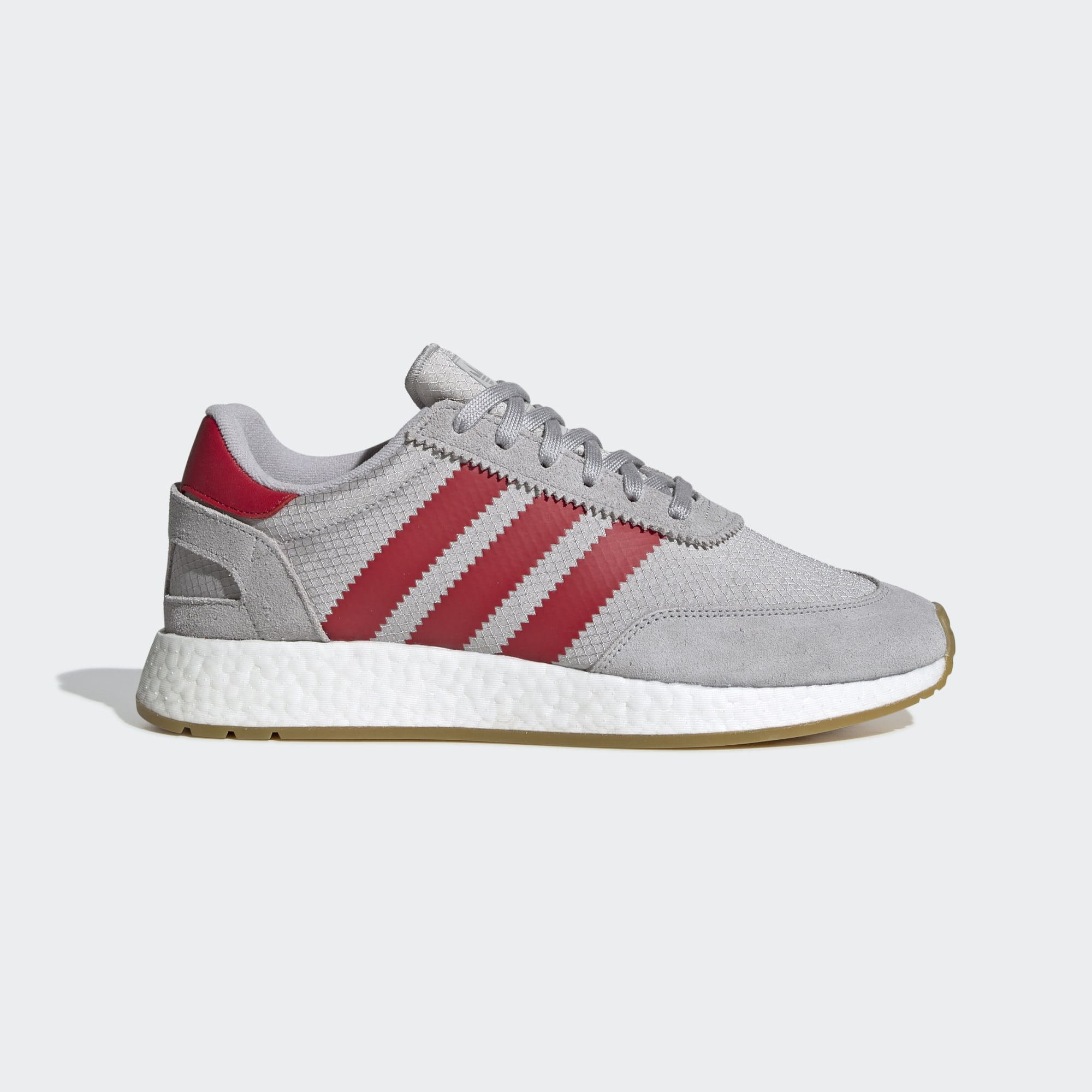 Adidas I-5923 Shoes - Grey Two / Scarlet / Gum