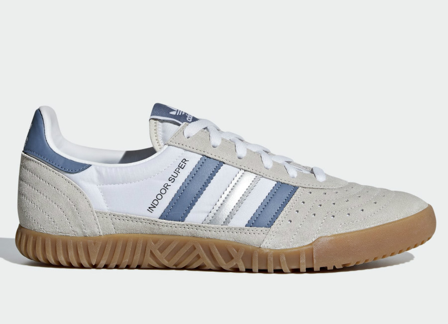 Adidas Indoor Super Shoes - Clear Brown / Raw Steel / Gum4Adidas Indoor Super Shoes - Clear Brown / Raw Steel / Gum4
