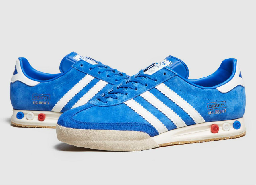 Adidas Kegler Super Beer - Bright Blue / Vintage White