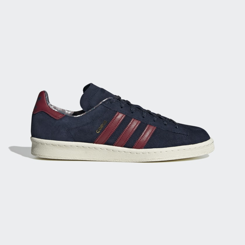 Adidas Campus 80S - Off White / Collegiate Burgundy / Mesa