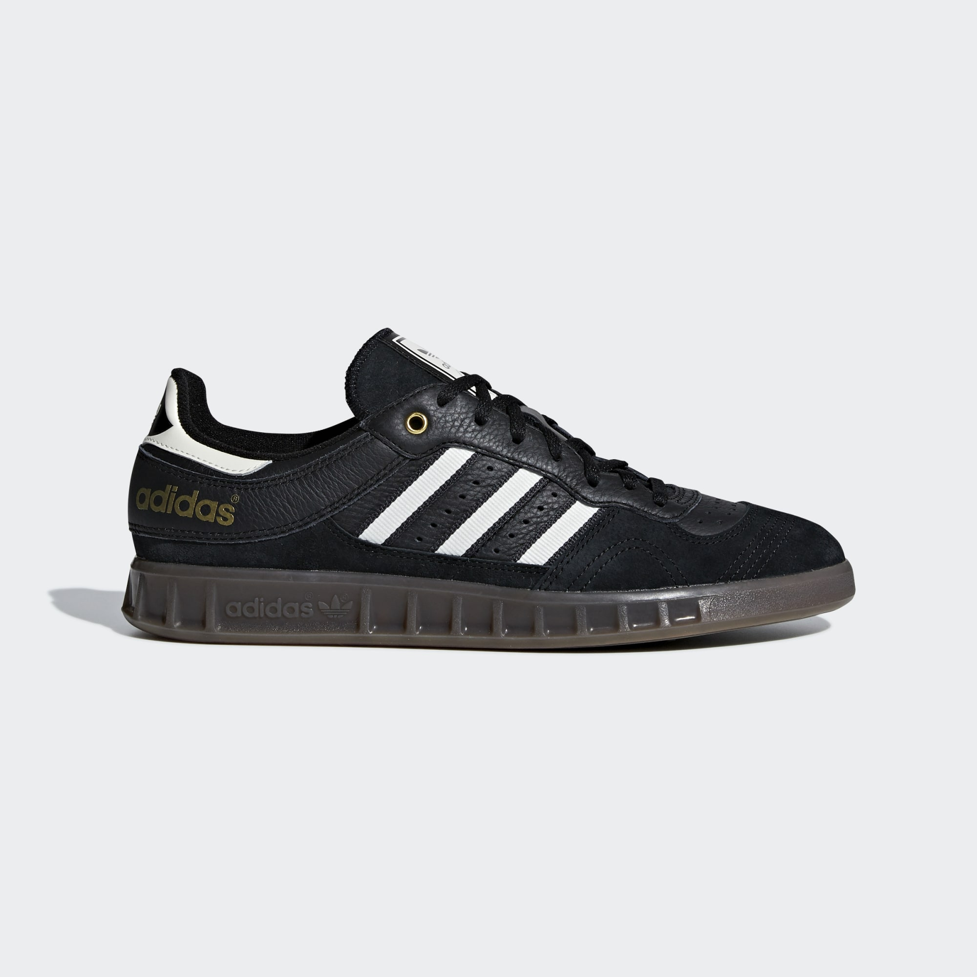 Adidas Handball Top Shoes - Core Black / Off White / Carbon