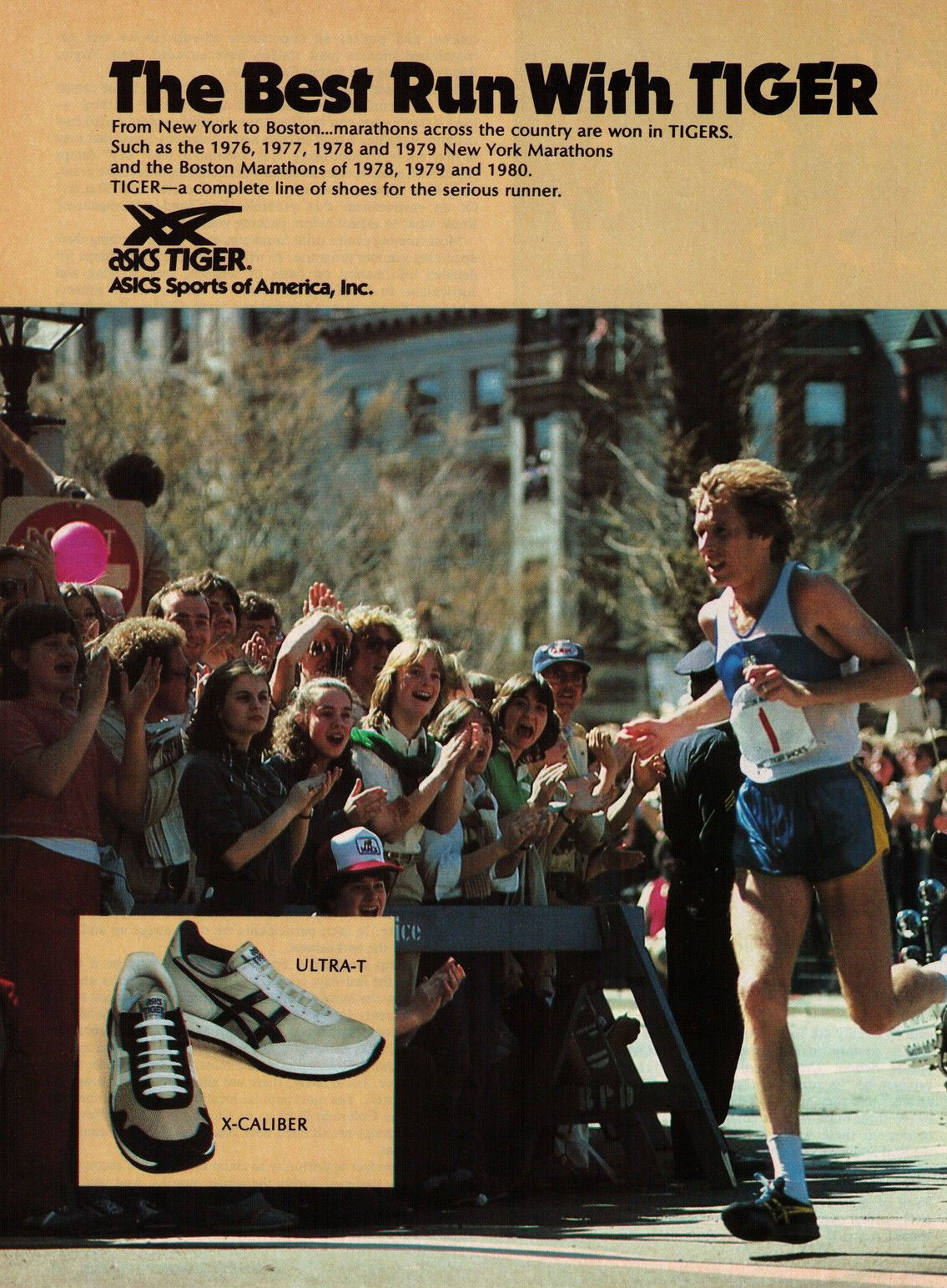 Asics Tiger - 1981 - The Best Run With Tiger