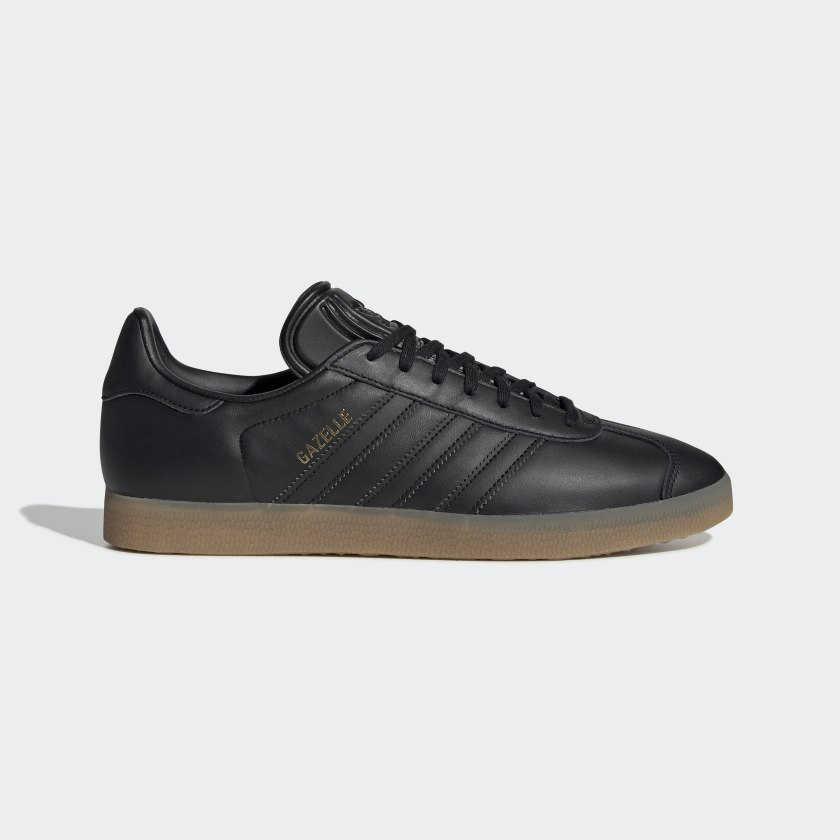 Adidas Gazelle Shoes - Core Black / Core Black / Gum3