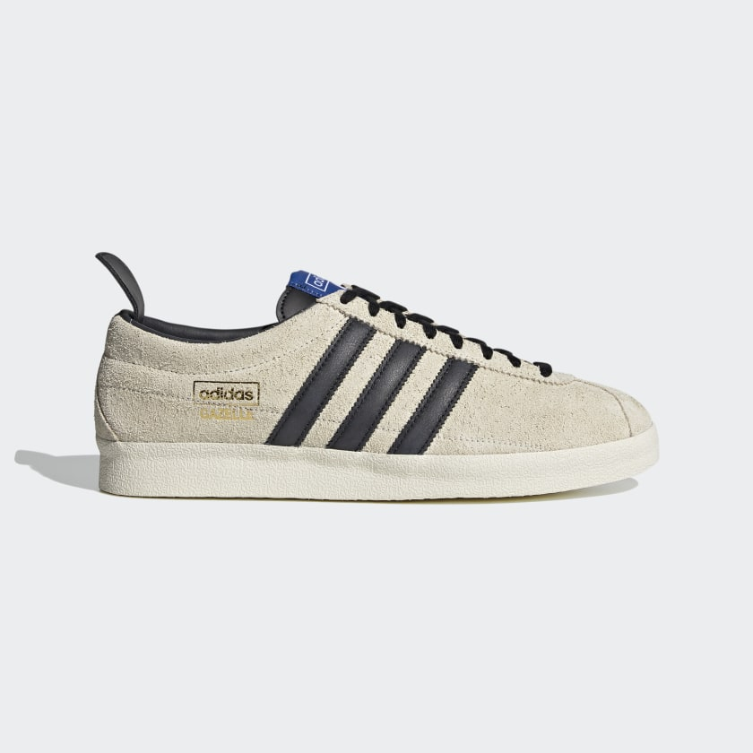Adidas Gazelle Vintage - Cream White / Core Black / Blue