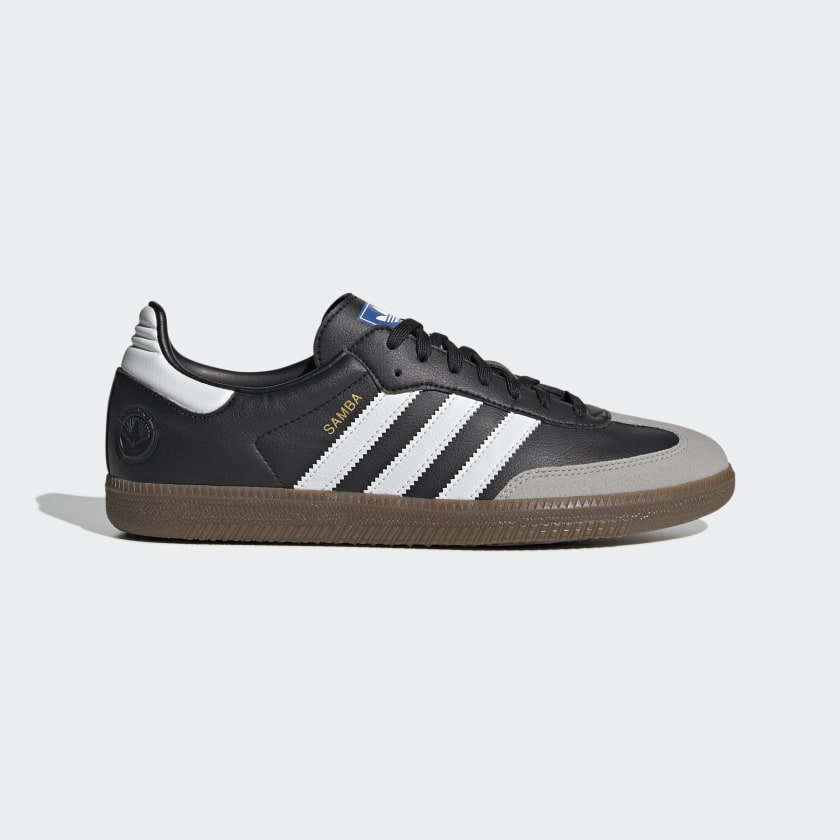 Adidas Samba Vegan Shoes - Cloud White / Core Black / Gum