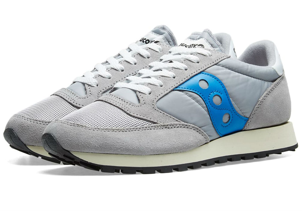 Saucony Jazz Original Vintage - Grey / Blue