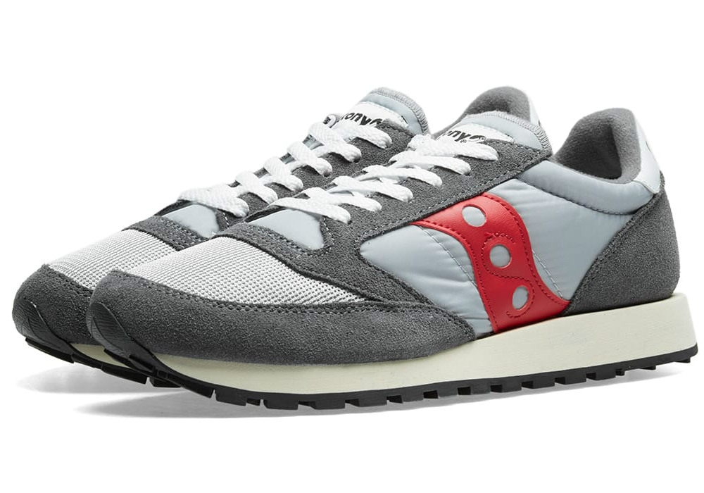 Saucony Jazz Original Vintage - Grey / Red