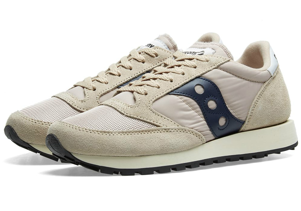 Saucony Jazz Original Vintage - Tan / Navy