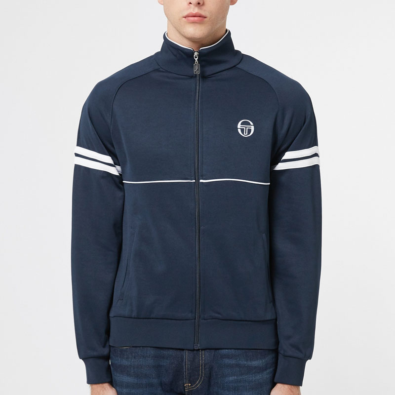 Sergio Tacchini Orion Track Top - Navy Blue