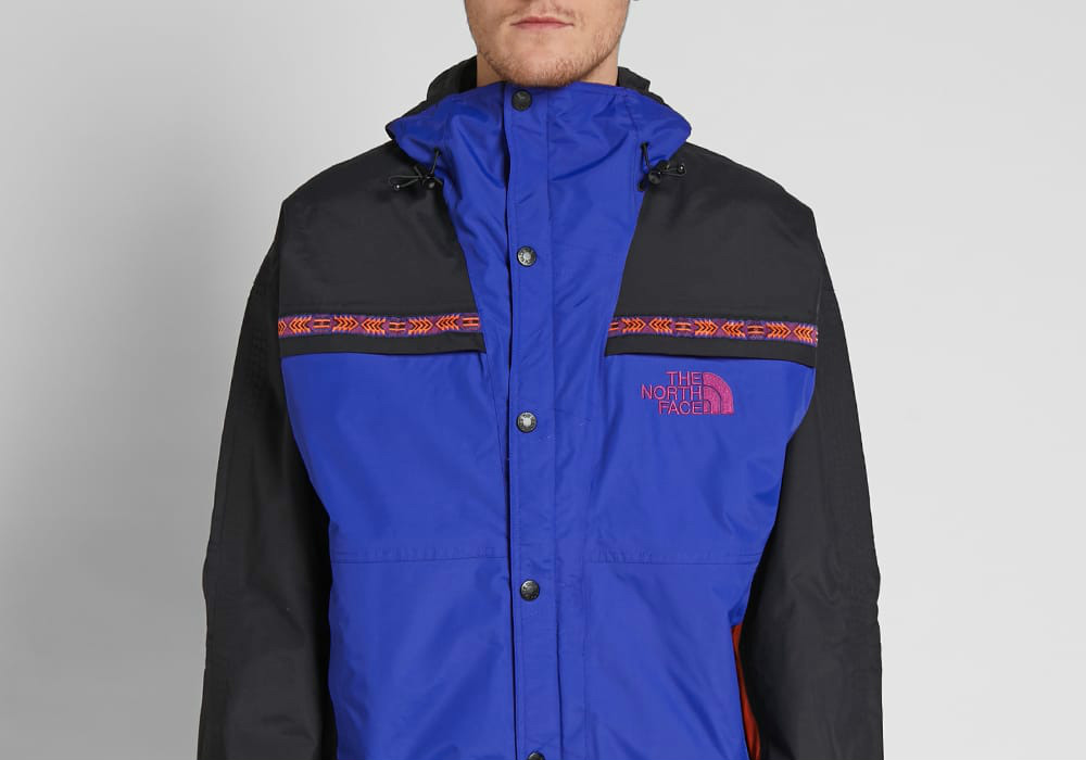 The North Face 92 Retro Rage Rain Jacket - Aztec Blue Rage Combo