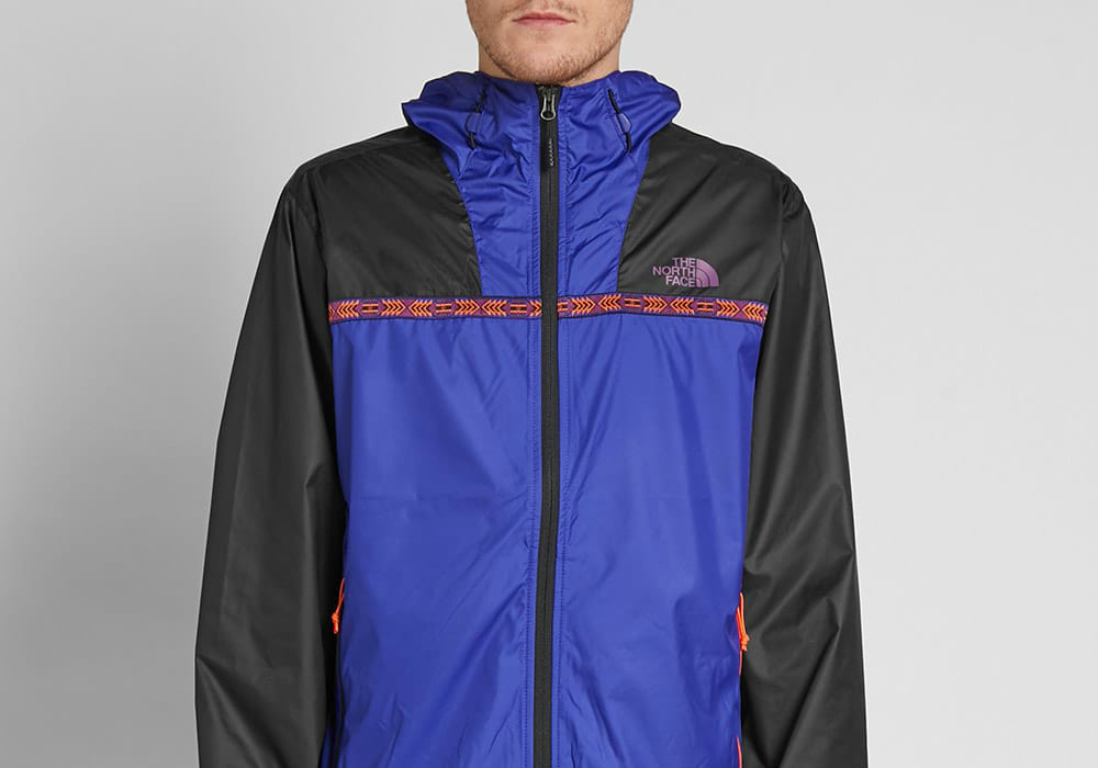 #TheNorthFace The North Face Novelty Cyclone 2.0 Jacket - Aztec Blue / Black