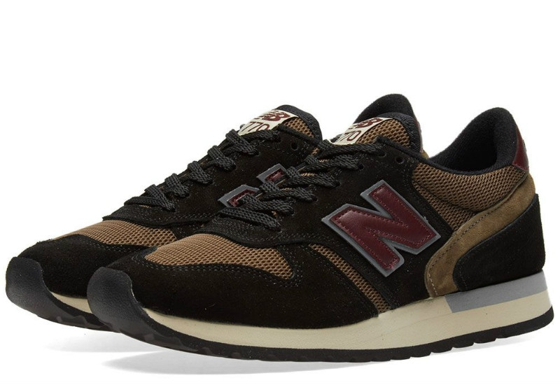 New Balance 770 Made In England - Brown / Red