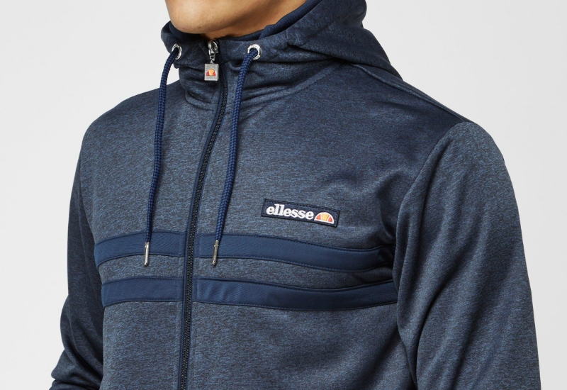 Ellesse Momba Hooded Track Top - Blue