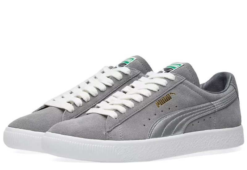 Puma Suede 90681 Silver Og Pack - Quiet Shade / Silver