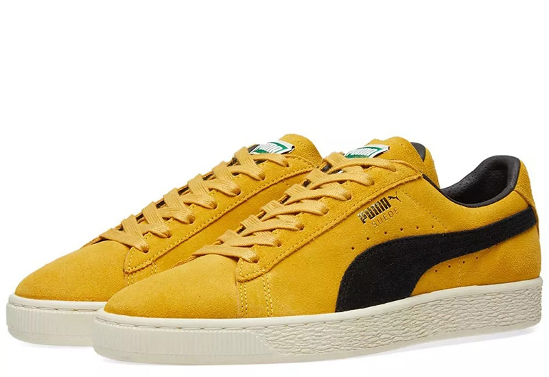 Puma Suede Classic Archive - Mineral Yellow / Puma Black