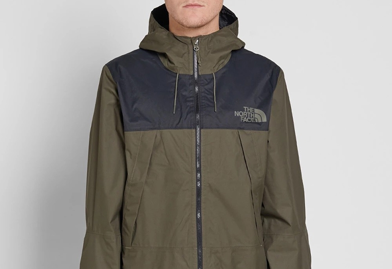 The North Face 1990 Mountain Q Jacket - Tnf Black / New Taupe Green