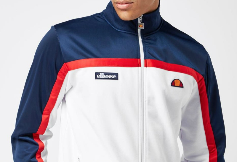 Ellesse Moresco Track Top - Navy / White / Red
