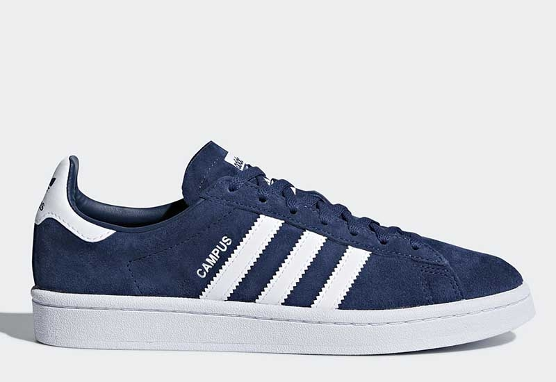 Adidas Campus - Mineral Blue / Ftwr White / Ftwr White
