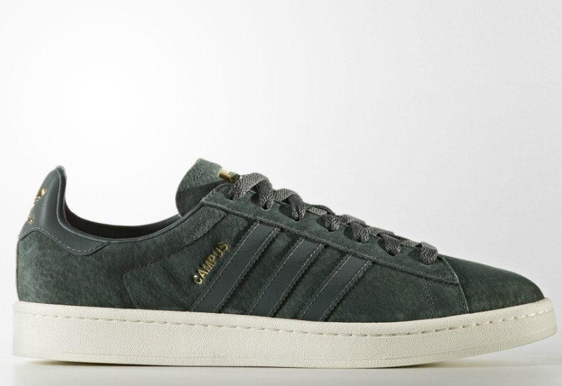 Adidas Campus - Utility Ivy / Reflective / Gold Metalic