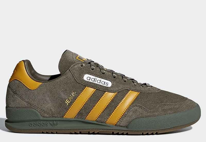 Adidas Jeans Super - Branch / Tactile Yellow / Base Green