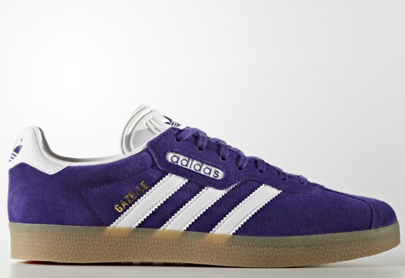Adidas Gazelle Super - Energy Ink / Footwear White / Gold Metalic