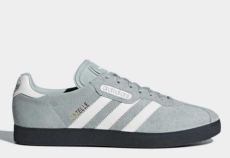 Adidas Gazelle Super - Tactile Green / Off White / Carbon