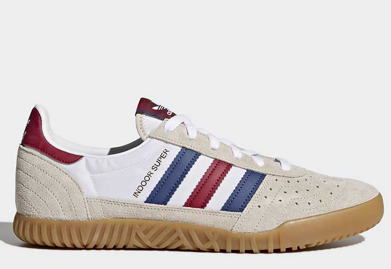Adidas Indoor Super - Clear Brown / Noble Indigo / Mystery Ruby