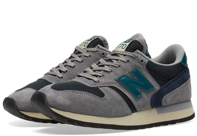 New Balance 770 Made In England - Grey / Teal