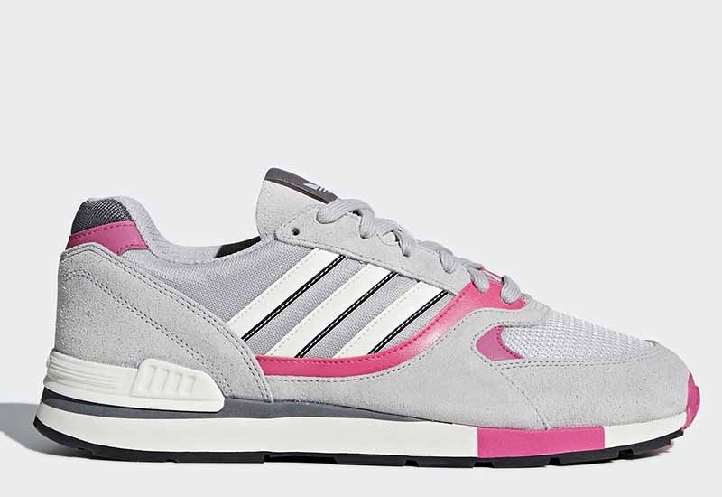 Adidas Quesence - Grey Two / Shock Pink / Grey Four