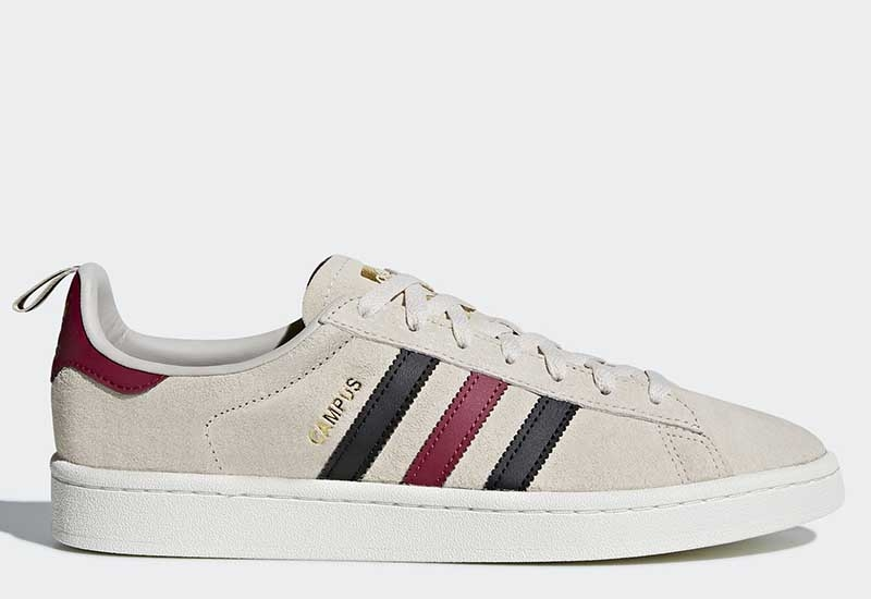 Adidas Campus - Clear Brown / Core Black / Mystery Ruby