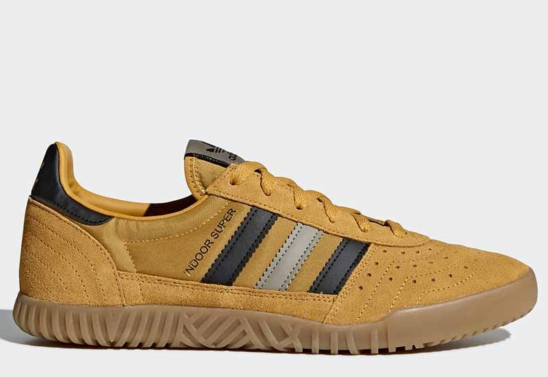 Adidas Indoor Super - Tactile Yellow / Core Black / Trace Cargo