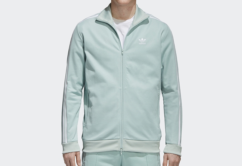 Adidas Bb Track Jacket - Ash Green