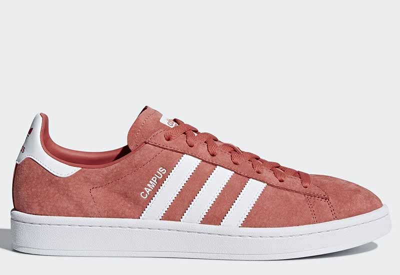 Adidas Campus - Trace Scarlet / Ftwr White / Ftwr White