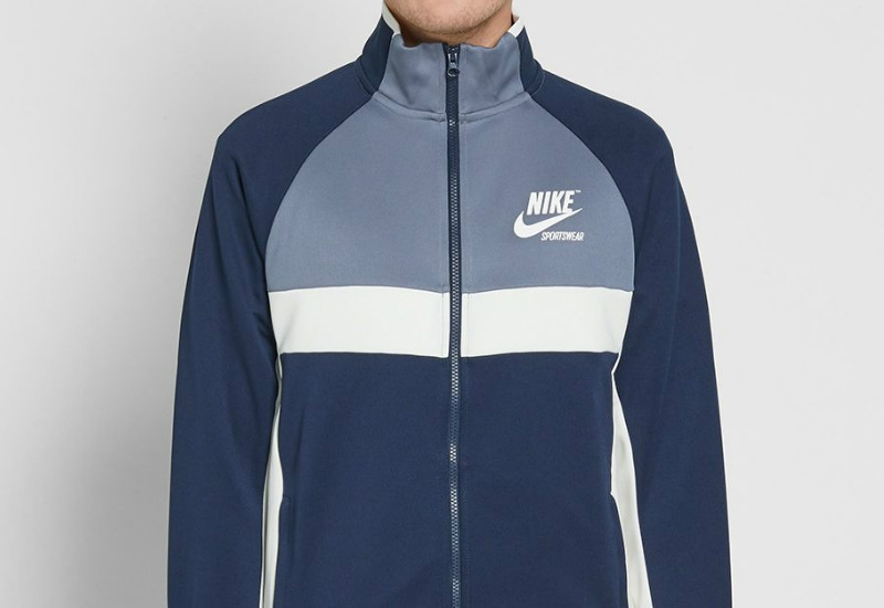 Nike Archive Track Jacket - Obsidian / Armory Blue / Sail