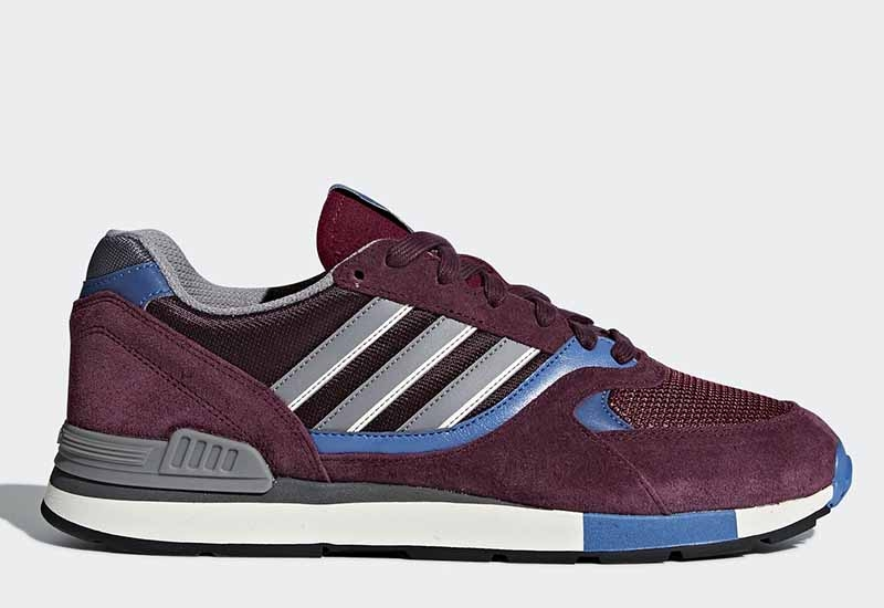 Adidas Quesence - Maroon / Trace Blue / Core Black