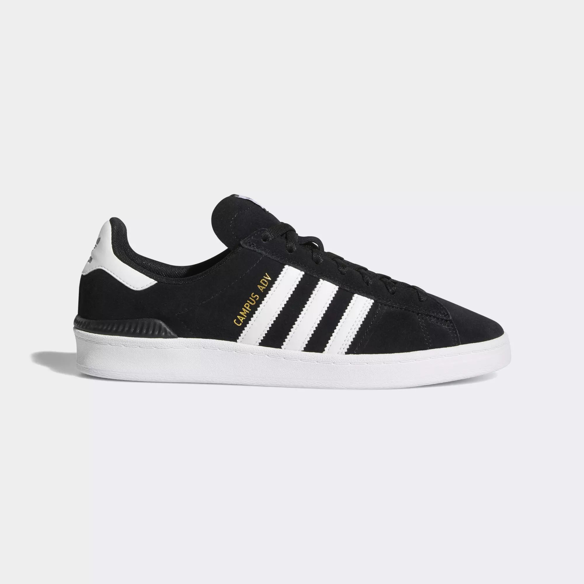 Adidas Campus ADV Shoes - Core Black / Ftwr White / Ftwr White