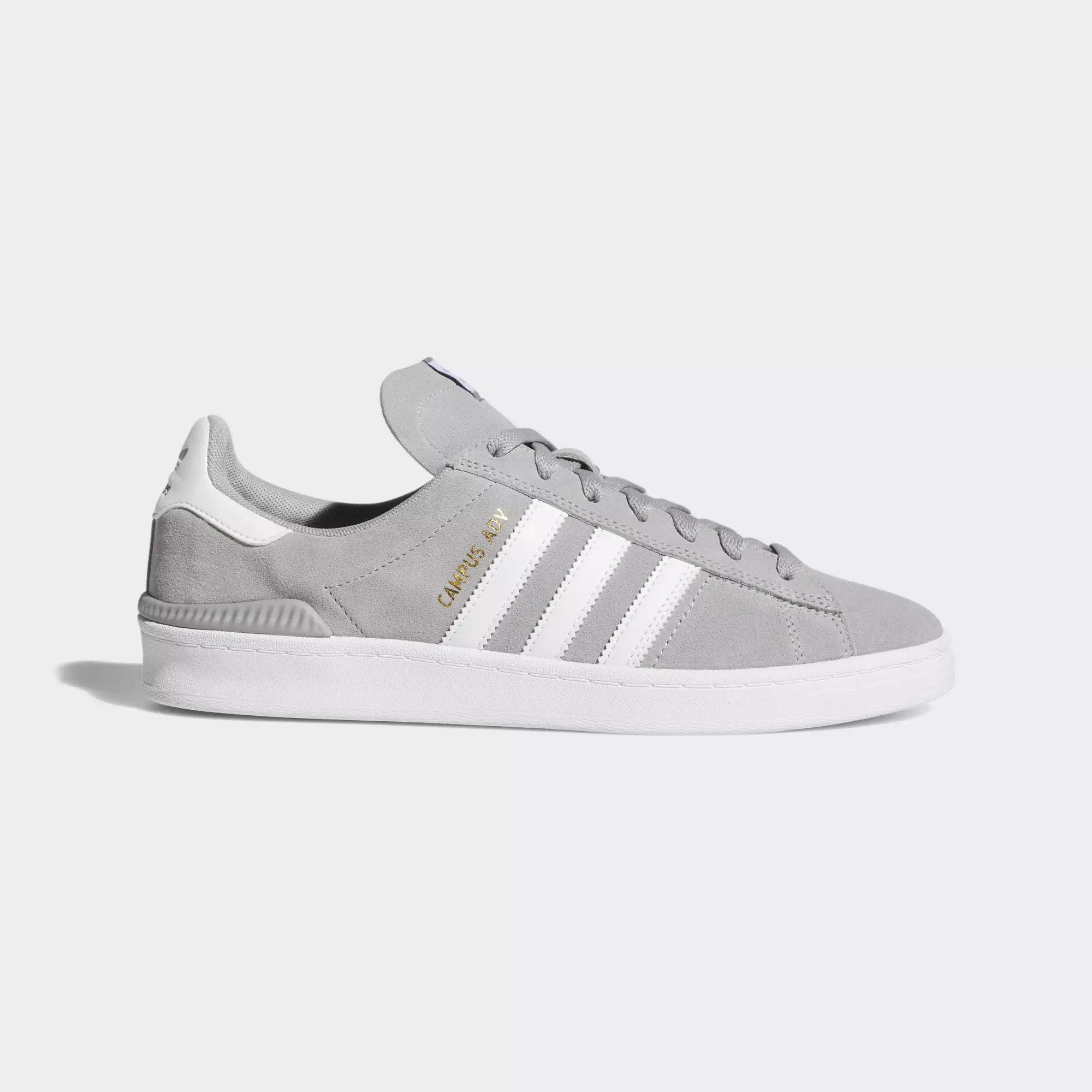 Adidas Campus ADV Shoes - Mgh Solid Grey / Ftwr White / Ftwr White