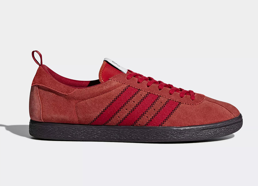 Adidas CP Company Tobacco Shoes - St Brick / Red Night / Surf Red