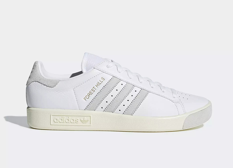 Adidas Forest Hills Shoes - Ftwr White / Cream White / Crystal White