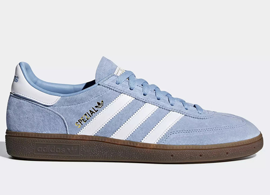 Adidas Handball Spezial Shoes - Ash Blue / Ftwr White / Gum