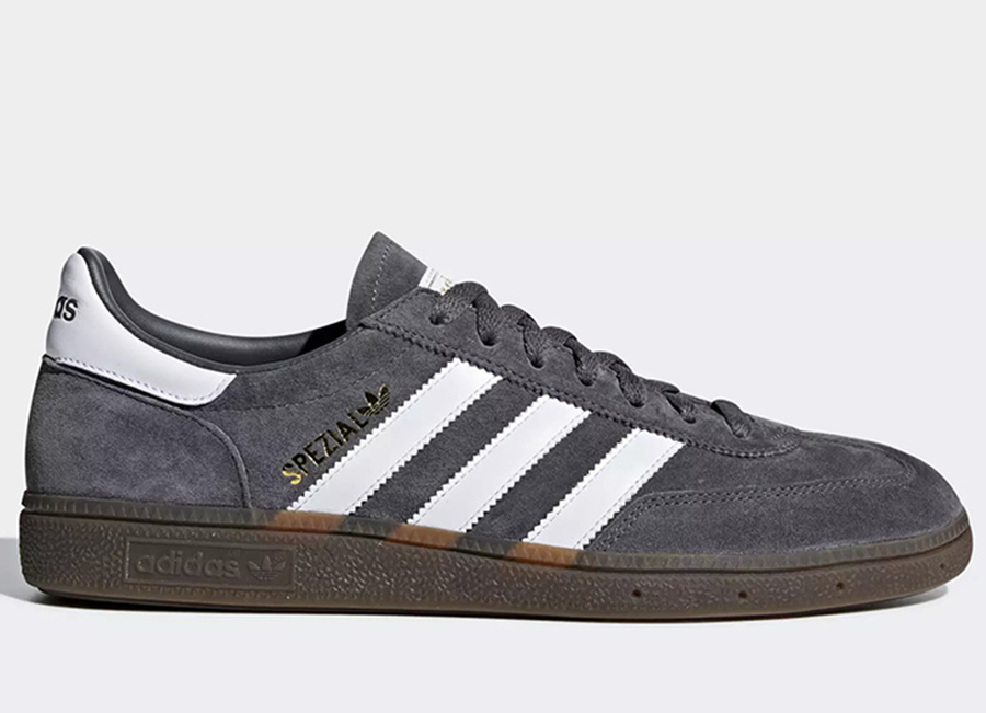 Adidas Handball Spezial Shoes - Grey Five / Ftwr White / Gum