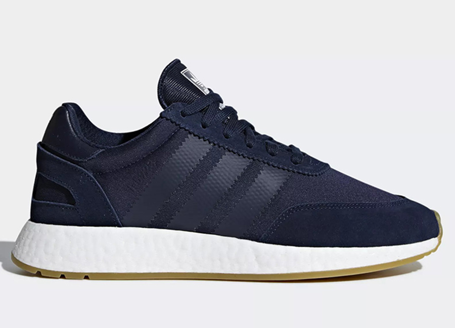 Adidas I-5923 Shoes - Collegiate Navy / Collegiate Navy / Gum