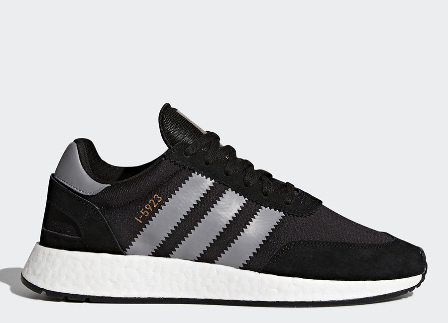 Adidas I-5923 Shoes - Core Black / Grey Three / Ftwr White