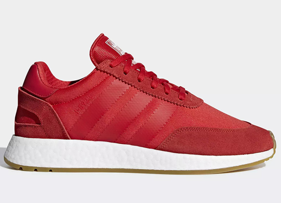 Adidas I-5923 Shoes - Red / Red / Gum
