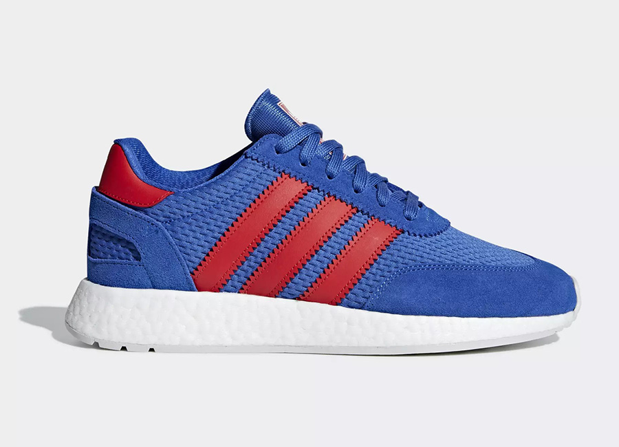 Adidas I-5923 Shoes - Hi-Res Blue / Red / Grey One